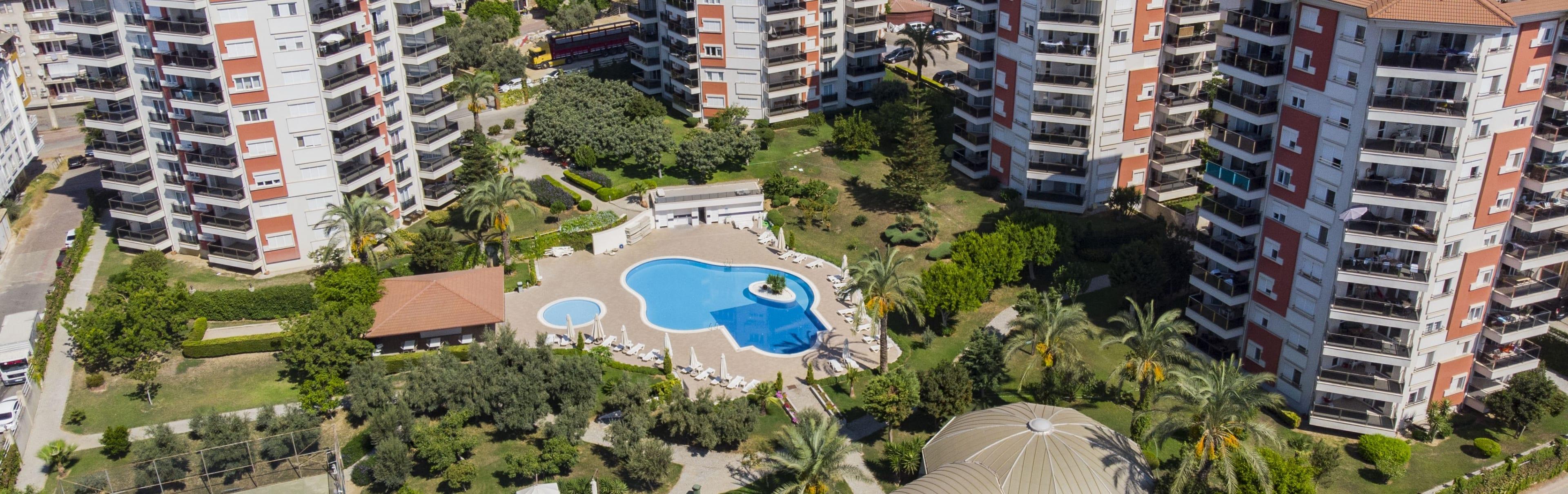 Alanya Park Garden view