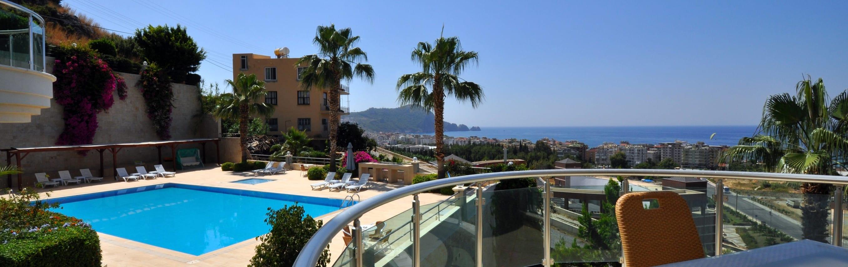 Cleopatra castle view