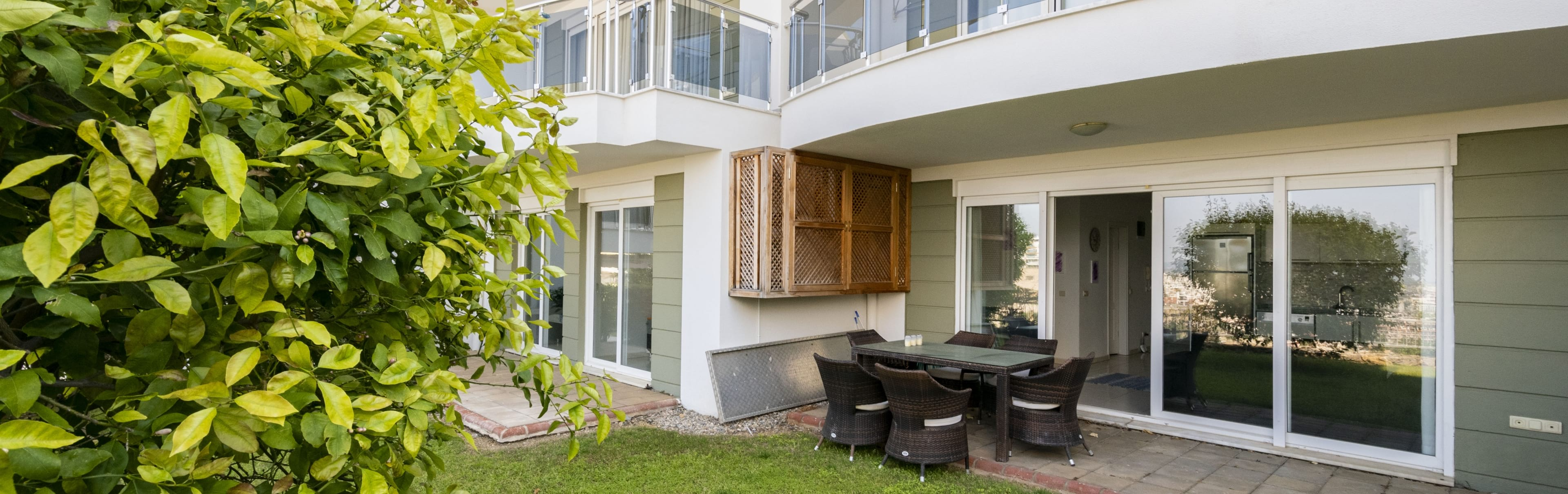 Garden apartment Konakli